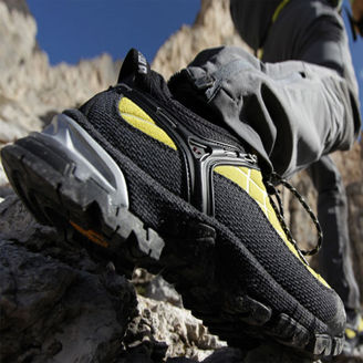 Picture of Low Profile Salewa Climbing Shoes